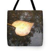 Golden Heart Tote Bag