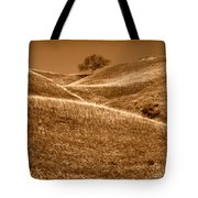Golden Hills Of California Photograph Tote Bag