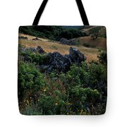 Golden Hills Of Summer Tote Bag by Kathy Yates