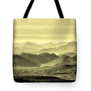 Golden Hills Of The Tonto Tote Bag