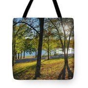 Golden Hour At Tenkiller State Park Tote Bag