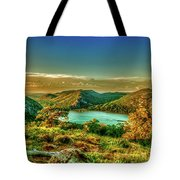 Golden Hour North Point Tote Bag