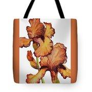Golden Iris Tote Bag
