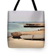 Golden Island Tote Bag