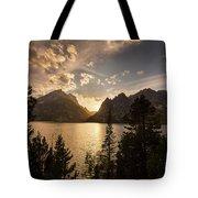Golden Jenny Lake View Tote Bag