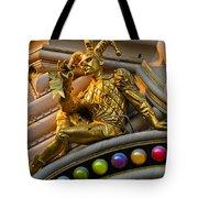 Golden Jester Tote Bag