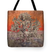 Golden Joshua Tree Tote Bag