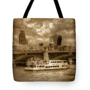 Golden Jubilee Party Boat Tote Bag