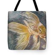 Golden Koi Tote Bag