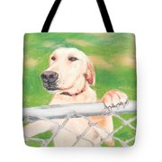 Golden Lab Wally Tote Bag