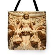 Golden Lady Tote Bag