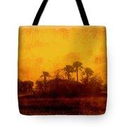 Golden Land Tote Bag