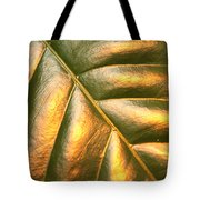 Golden Leaf Tote Bag