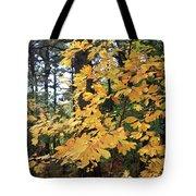 Golden Leaves Tote Bag