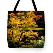 Golden Maple Tote Bag
