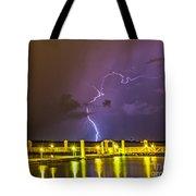 Golden Marina Tote Bag