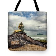 Golden Mermaid Thailand Tote Bag