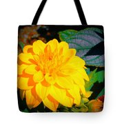 Golden Moment In The Morning Tote Bag