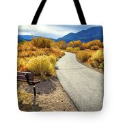 Golden Moments In Mammoth Tote Bag