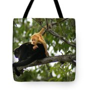 Golden Monkey Tote Bag