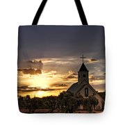 Golden Morning Light Tote Bag by Saija  Lehtonen