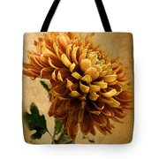 Golden Mum Tote Bag