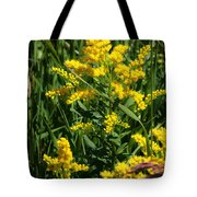 Golden October Tote Bag by Christine Till