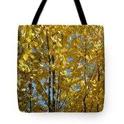 Golden October Tote Bag
