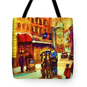 Golden Olden Days Tote Bag