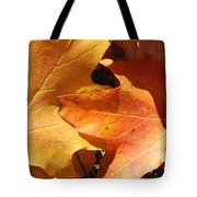 Golden Orange Tote Bag
