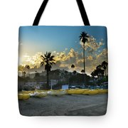 Golden Outriggers Tote Bag