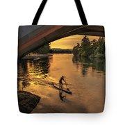 Golden Paddler Tote Bag