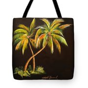 Golden Palms 2 Tote Bag