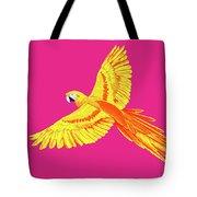 Golden Parrot Tote Bag