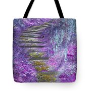 Golden Path Down To Rosslyn Glen Tote Bag