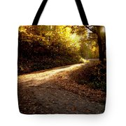 Golden Path Tote Bag