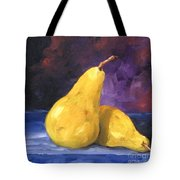 Golden Pears Tote Bag
