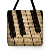 Golden Pianoforte Classic Tote Bag