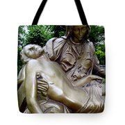 Golden Pieta Tote Bag