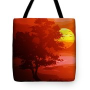Golden Rays Of The Sun  Tote Bag