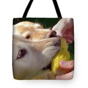 Golden Retriever Dogs Corn Dog Summer  Tote Bag