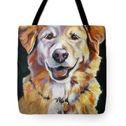 Golden Retriever Most Huggable Tote Bag