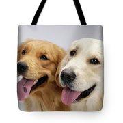 Golden Retrievers Tote Bag