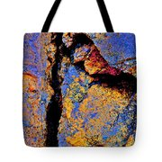 Golden Rocks Tote Bag