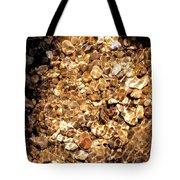 Golden Gravel Tote Bag
