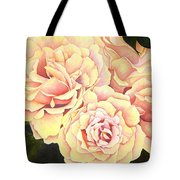 Golden Roses Tote Bag