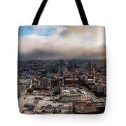 Golden San Francisco Tote Bag