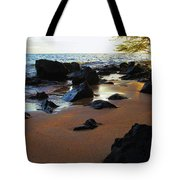 Golden Sand Tote Bag