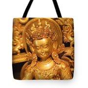 Golden Sculpture Tote Bag