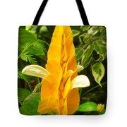 Amazing Golden Shrimp Plant  Tote Bag